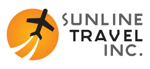 Sunline Travel Inc. : Cheap Business Class Travel : First Class Tickets